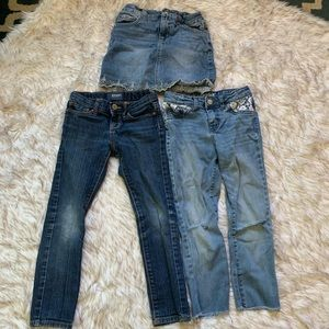 Other - Girls 6 jean bundle